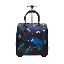 Buy Ted Baker Talulla Butterfly Collective Travel Bag, Black Online at johnlewis.com