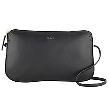 Buy Tula Smooth Originals Leather Across Body Zip Bag Online at johnlewis.com