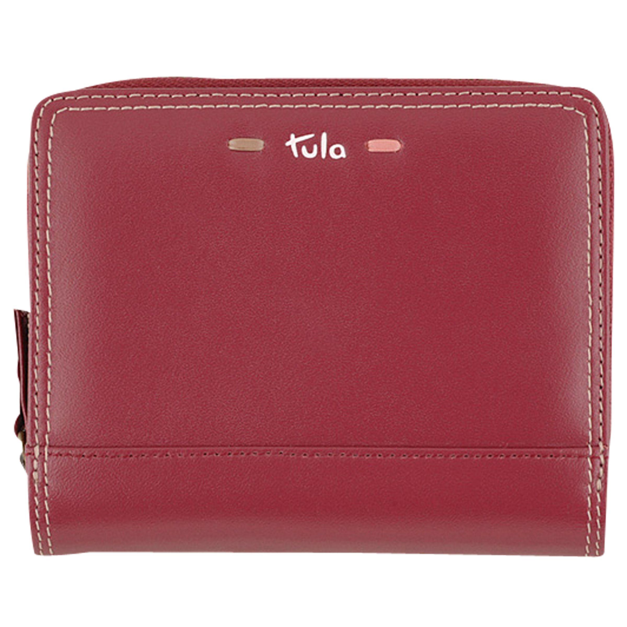 Tula Tula Violet Leather Wallet Purse