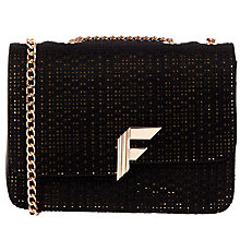Buy Fiorelli Nicole Pony Boxy Shoulder Bag, Black Online at johnlewis.com