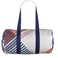 Buy Radley Triagonal Canvas Large Ziptop Barrel Tote Bag, Multi Online at johnlewis.com
