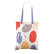 Buy Radley Dna Medium Spot Print Canvas Tote Bag, Neutral/Multi Online at johnlewis.com