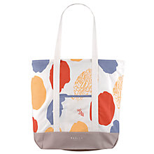 Buy Radley Dna Large Canvas Tote Bag, Natural/Multi Online at johnlewis.com