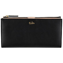 Buy Tula Bella Leather Matinee Purse, Black Online at johnlewis.com
