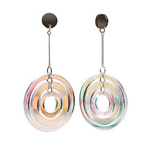 Buy Toolally Studio 54 Drop Earrings, Iridescent Online at johnlewis.com