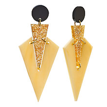 Buy Toolally Art Deco Drop Earrings Online at johnlewis.com