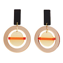 Buy Toolally The Planets Drop Earrings, Nude Online at johnlewis.com