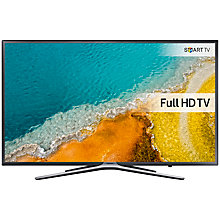 "Buy Samsung UE49K5500 LED Full HD 1080p Smart TV, 49"" with Freeview HD and Built-In Wi-Fi, Dark Grey/Silver Online at johnlewis.com"