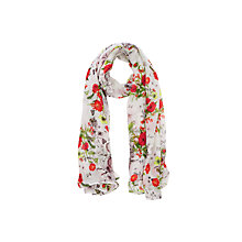 Buy Oasis Wild Daisy Print Scarf, Multi Online at johnlewis.com