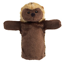 Buy Living Nature Hedgehog Hand Puppet Soft Toy Online at johnlewis.com