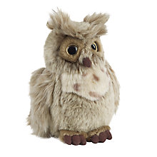 Buy Living Nature Brown Owl Soft Toy, Medium Online at johnlewis.com