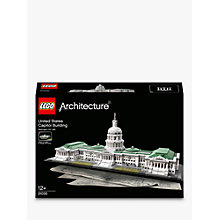 Buy LEGO Architecture US Capitol Building Online at johnlewis.com