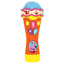 Buy Peppa Pig Microphone Online at johnlewis.com