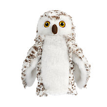 Buy Living Nature Snowy Owl Hand Puppet Soft Toy Online at johnlewis.com