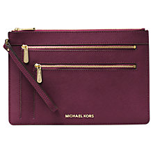 Buy MICHAEL Michael Kors Jet Set Travel Extra Large Leather Purse Online at johnlewis.com