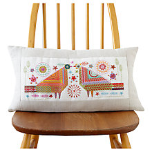 Buy Nancy Nicholson Love Birds Cushion Embroidery Kit Online at johnlewis.com