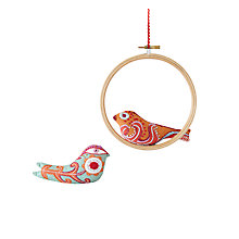 Buy Nancy Nicholson Little Birds Decoration Embroidery Kit Online at johnlewis.com
