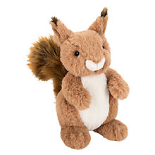 Buy John Lewis Buster the Boxer Sid the Squirrel Plush Soft Toy, Brown, H22cm Online at johnlewis.com