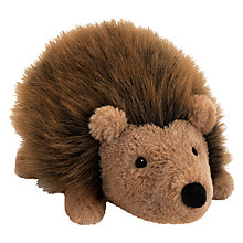 Buy John Lewis Buster the Boxer Hallie the Hedgehog Plush Soft Toy, Brown, H18cm Online at johnlewis.com
