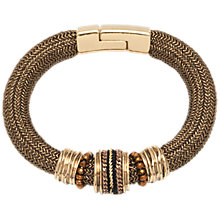 Buy Adele Marie Statement Mesh Bead Bracelet Online at johnlewis.com