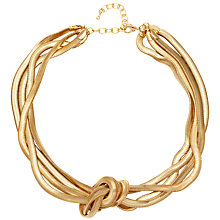 Buy Adele Marie 4 Row Knot Flat Necklace Online at johnlewis.com