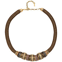 Buy Adele Marie Statement Mesh Bead Necklace Online at johnlewis.com