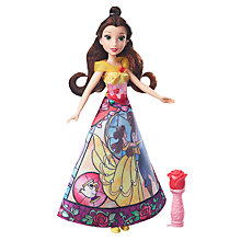 Buy Disney Princess Beauty and the Beast Belle Magical Story Skirt Doll Online at johnlewis.com