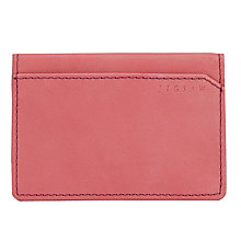 Buy Jigsaw Contrast Travel Card Holder, Pink Online at johnlewis.com