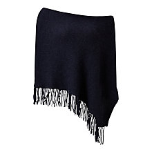 Buy Jigsaw Fringed Poncho Online at johnlewis.com
