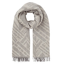 Buy Jigsaw Aztec Oversized Scarf Online at johnlewis.com
