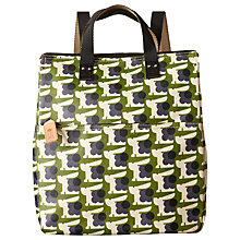 Buy Orla Kiely Baby Bunny Print Backpack, Grass Online at johnlewis.com