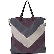 Buy Et DAY Birger et Mikkelsen Block Shopper Bag, Purple Online at johnlewis.com