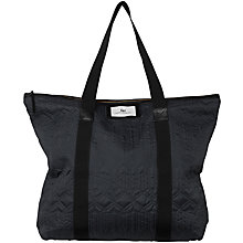 Buy Et DAY Birger et Mikkelsen Gweneth East / West Quilt Tote Bag, Black Online at johnlewis.com