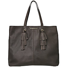 Buy Et DAY Birger et Mikkelsen Nappina Shopper Bag, Brown Online at johnlewis.com