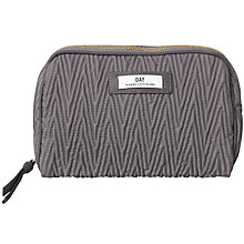 Buy Et DAY Birger et Mikkelsen Drape Quilt Pouch, Grey Online at johnlewis.com