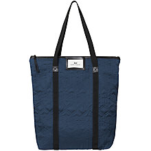 Buy Et DAY Birger et Mikkelsen Gweneth Quilted Tote Bag, Midnight Navy Online at johnlewis.com
