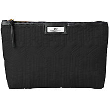 Buy Et DAY Birger et Mikkelsen Gweneth Quilt Pouch, Black Online at johnlewis.com