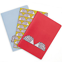 Buy Scion Spike Notebooks, Set of 3 Online at johnlewis.com