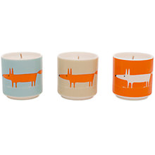 Buy Scion Mr Fox Candles, Set of 3 Online at johnlewis.com