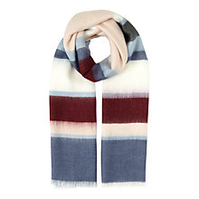 Buy Miss Selfridge Stripe Scarf. Multi Online at johnlewis.com