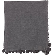 Buy Jigsaw Soraya Pom Edge Scarf Online at johnlewis.com