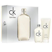 Buy Calvin Klein CK One 50ml Eau de Toilette Fragrance Gift Set Online at johnlewis.com