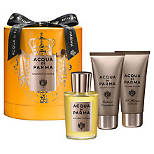 Buy Acqua di Parma Colonia Intensa 100ml Eau de Cologne Fragrance Gift Set Online at johnlewis.com