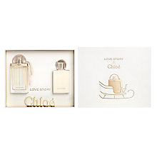Buy Chloé Love Story 50ml Eau de Parfum Fragrance Gift Set Online at johnlewis.com