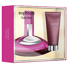 Buy Calvin Klein Euphoria for Women 30ml Eau de Parfum Fragrance Gift Set Online at johnlewis.com