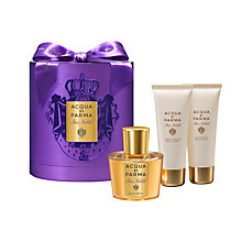 Buy Acqua di Parma Iris Nobile 100ml Eau de Parfum Fragrance Gift Set Online at johnlewis.com