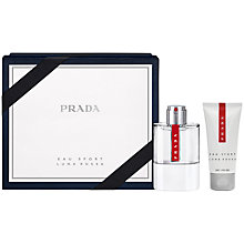 Buy Prada Luna Rossa Eau Sport 75ml Fragrance Gift Set Online at johnlewis.com