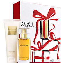 Buy Estée Lauder Cinnabar 50ml Eau de Parfum Exotic Fragrance Gift Set Online at johnlewis.com