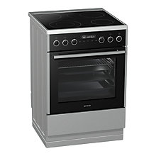 Buy Gorenje EC647A21XV Electric Cooker, Silver Online at johnlewis.com