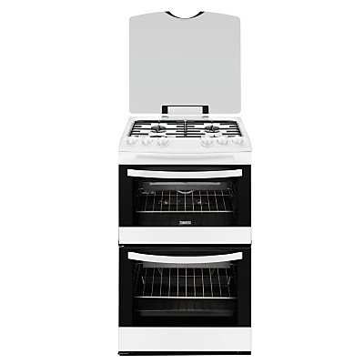 Zanussi ZCG43000WA Gas Cooker Stainless Steel